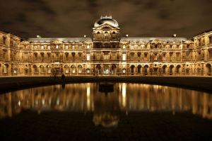 The Louvre at night. Photo by Zigar on Flickr under Creative Commons.